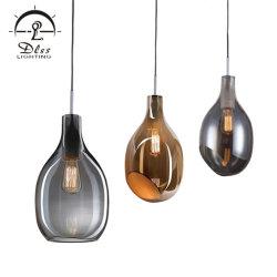 사선, 직선형 개방, 펜던트 조명 포함 평면 모던 디자인 램프