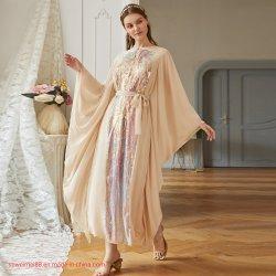 Les nouvelles femmes Vêtements modestes Hijab musulmane Clothigns islamique ABAYA DUBAI en gros les femmes de l'usure Maxi robe Tenue vestimentaire