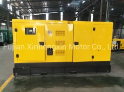 Refrigerado por agua 100kw diesel de 125 kVA insonorizado de Generación Eléctrica