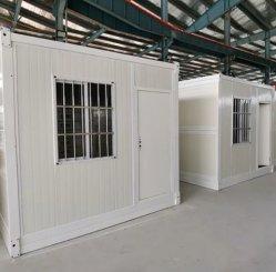 上の販売のプレハブのフラットパックの生存Foldable容器ハウジング部屋