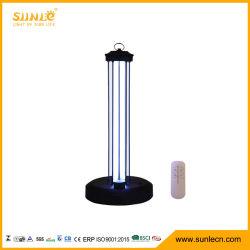 38W a lâmpada de desinfecção ultravioleta Shell plástico UVC Esterilizador Quarto portátil de luz luz germicida UV