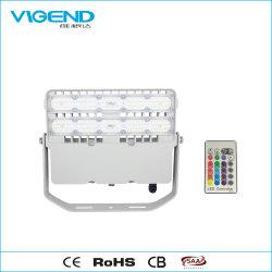 100W Reflector LED RGB LED con 2.4G de Control Remoto RF resistente al agua para la iluminación exterior