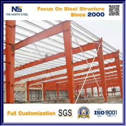 Estructura de acero profesional del diseño del bastidor de acero con un buen aislamiento acústico y resistencia a los golpes de médicos de los edificios