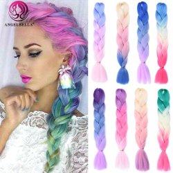 Cheveux humains indiens Angelbella 613# cheveux soyeux Remy droites branding