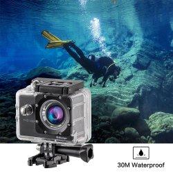 Banheira de venda por grosso de câmara de acção de 1080P para Outdoor Câmara Desporto