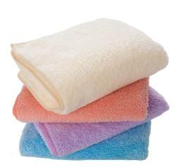Hot sale personnalisé MicroFiber Hotel blanc Luxury serviette de bain 100% Coton à torsion basse