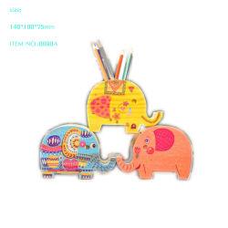 2020のプラスチック象の動物の形の木の鉛筆のペンの箱