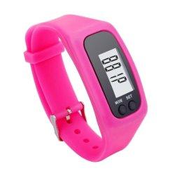 Vigilanza astuta ambulante del pedometro corrente del contatore di operazioni successive di caloria di Digitahi del Wristband del braccialetto del silicone