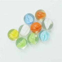Las bolitas de vidrio 5/8 pulgada de 16mm ocular de los gatos de color verde claro