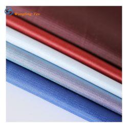 Estilos diferentes 100% poliéster 210t Habutai Seda liso tejido teñido de prendas de vestir de bufanda y 58G/M