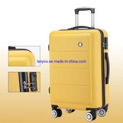 Nuovi bagagli di affari di colore solido di disegno ABS+PC