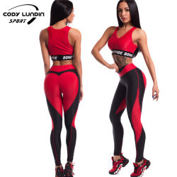 Cody Lundin Mulheres Ginásio perfeita designs de ioga Sexy cultura contínua de cima e perfeita do Contorno de vestuário