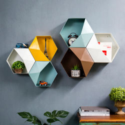 Новый дизайн Показать продукты в современном стиле хранения дома в ванной комнате металлической стенки полки