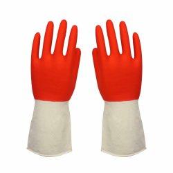 Twee Handschoenen van het Latex van de Veiligheid van de Hand van het Huishouden van de Kleur Beschermende