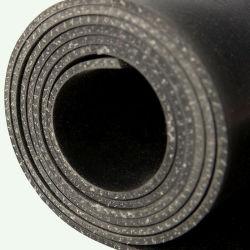 SBR Black Cotton/Nylon Insertion Gummimatte für Schutzzwecke
