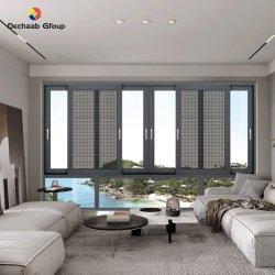 Slagvaste dubbele glazen schuifruiten prijzen met gaas En Guard Latest_Window_Design