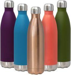 500ml Vacío aislamiento termo de acero inoxidable nueva botella de agua en forma de cola