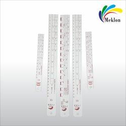 Commerce de gros Meklon mesurant les peintures Règle de mélange de peinture aluminium de dirigeants de bâtonnets