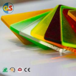Goldensignアクリルシート/PMMAを刻む透過CNCの彫版かレーザー