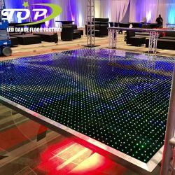 Prix de gros de l'éclairage de plancher de danse vidéo LED pour l'étape