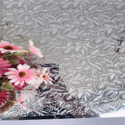 Spiegel-fertiges Edelstahl-Blatt der PVD Farben-Beschichtung-Radierungs-8K