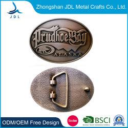 Rame su ordinazione di alta qualità noi inarcamento di cinghia del regalo di modo del metallo della baia di Prudhoe per gli uomini (016)