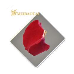 مرآة يصقل زخرفة [ستينلسّ ستيل شيت] لأنّ [ستينلسّ ستيل] طاولة