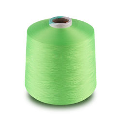 150d2 elástica de goma elástica de látex Polyster hilo crochet