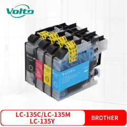 MFCJ4410dw J4510dw J4710dw J6520dw J6920dw DCP-J4110dwのための互換性のある兄弟LC-135のインクカートリッジ