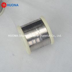 Cr30ni70 Résistance de chauffage électrique ruban Nichrome/un fil plat