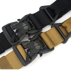 قماش نيلون جيد التهوية رجال تكتيكية عسكرية حزام الخصر مع مغناطيسي بوكلي1 بوير