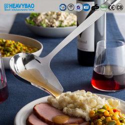 Un style moderne Heavybao Cuisine en acier inoxydable d'outils de la vaisselle de cuisine cuillère de sauce