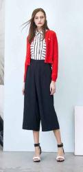 ばねの卸し売り標準的で穏やかなBrand女性最上質のウールのカーディガンのセーター