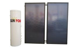 Conveniente para instalar o painel do sistema de aquecimento solar utilizada Solar Aquecedores de Água