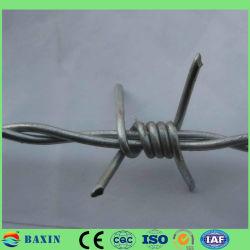 ホット DIP 亜鉛めっきバーベッド鉄ワイヤのロール当たりの価格