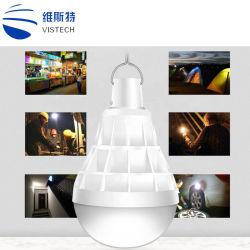 30W 50W 5 Modos de lanterna portátil lâmpada LED de carregamento USB Lanterna Hook Travando Camping tenda a lâmpada de emergência luz de bateria incorporada