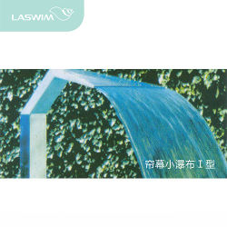 منتجع مياه استشفائيّة تجهيز [ستينلسّ ستيل] شلال لأنّ [سويمّينغ بوول]