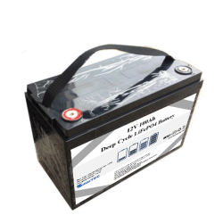 Wiederaufladbare Lithium-Batterie 12V 100Ah 120ah 4s Deep Cycle LiFePO4 Akku für SLA-Bleiakku Austausch