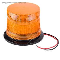 緊急LEDの警告のストロボ標識の淡い琥珀色のレンズ、パーマまたは管の台紙