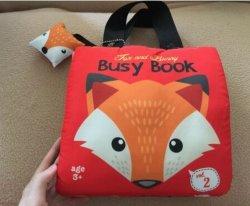 아이들 아이 바쁜 활동 책 큰 큰 교육 장난감 의상 책