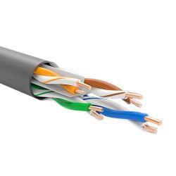 UTP CAT6 23AWG de cobre puro Fabricante de cable LAN/CCA 0.57 La creación de redes Ethernet de cable de la cámara de aire exterior/interior 305m pasado la prueba de Fluke
