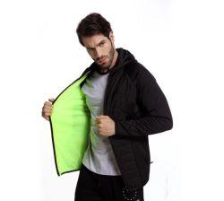 Зимняя одежда тренировки Sportswear спортзал фитнес-Man вниз нанесите на пиджак фитнес тренировки спортивной одежды мужчин Зимняя куртка нанесите на верхней одежды Одежда верхняя одежда