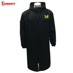 Aibort 100% tejido de polipropileno cubierta Mens Parka chaqueta larga Chaqueta de invierno (100)
