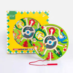 Shipin 재고 빠른 Dispatchwholesale 아이들의 나무로 되는 장난감 재미 자석 미로 시리즈 보드 게임에 준비하십시오