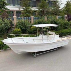 Liya 22 قدم فيبرجلاس الصيد قارب العمل مصنع سرعة المياه زوارق رياضية بانجا زورق للبيع