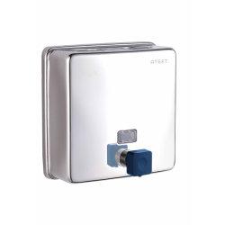 영속성 스테인리스 스틸 벽걸이 1500ml SOAP 디스펜서(수동), 상업용 호텔 욕실 악세사리