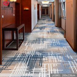 試供品の安い価格の中国の工場居間のオフィスの花の習慣3Dのための商業ナイロンポリエステル床の通路のカーペットはホテルの宴会のカーペットのタイルを印刷した