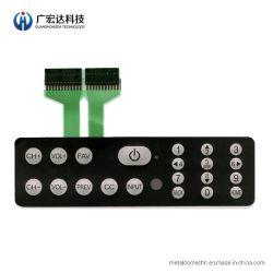 Высокое качество тиснения водонепроницаемый чехол для устройства клавиатуры мембранного переключателя с тактильной металлический купол клавиатуры