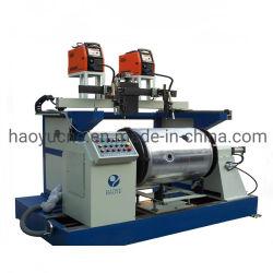 مصنع الصين مخصص نوع Lathe تلقائي CNC الغاز المياه الشمسية ماكينة لحام الطبقة الدائرية السفلية لخزان وقود المسخن للحاويات