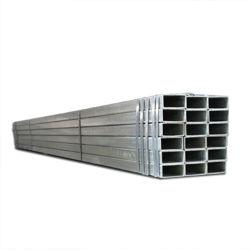 El carbono de acero galvanizado negro o de tubo rectangular de acero soldado